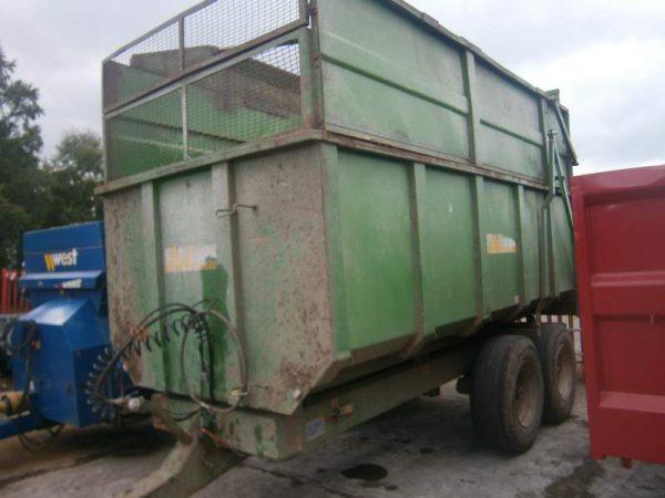 AW 10 Ton Silage Trailer for sale at HJR Agri Ltd, Oswestry, Shropshire