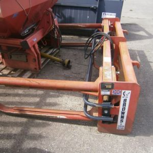 Browns Square Bale Handler for sale at HJR Agri Ltd